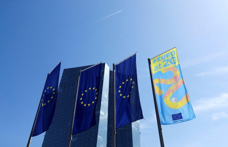 歐元區或許能因利息降低,提振財政支出。路透