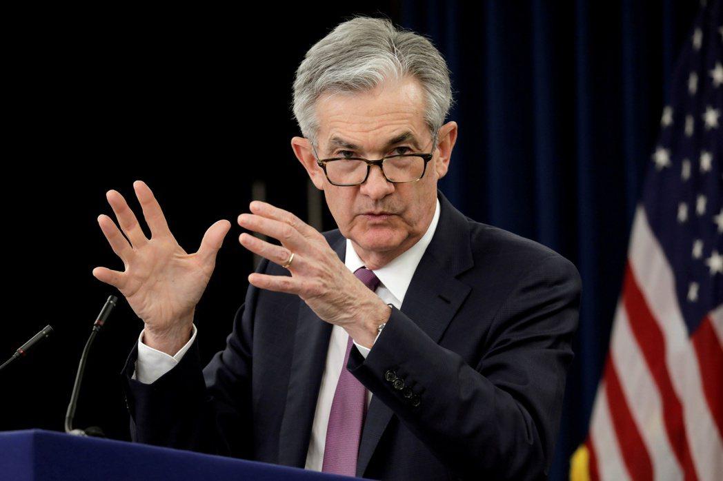 Fed主席鮑爾。路透