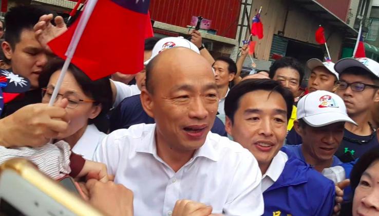 高雄市長韓國瑜。 記者賴郁薇/攝影