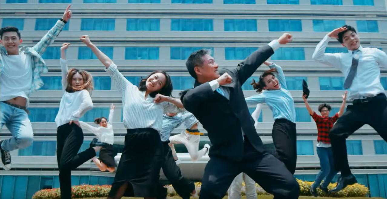 科學園區合拍形象片「科學園舞曲」吸引年輕人加入。圖/取自竹科萬花筒YouTube...