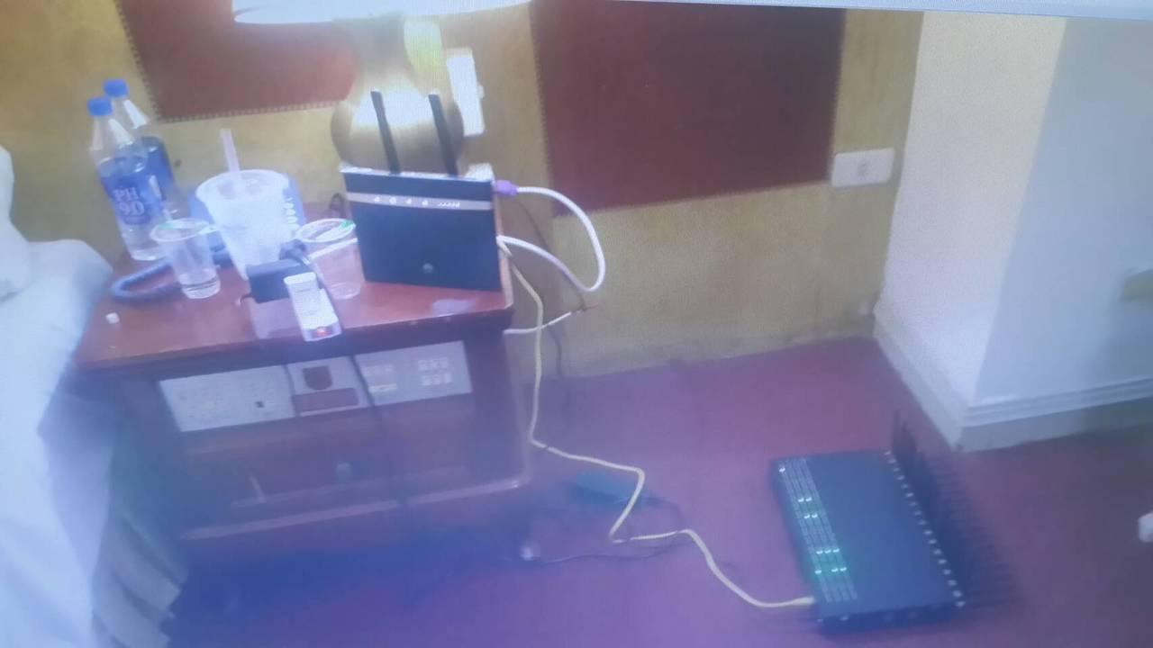 馬來西亞男子吳勝凱搭機來台,在飯店架設數位式移動節費器(DMT)連結網際網路,再...