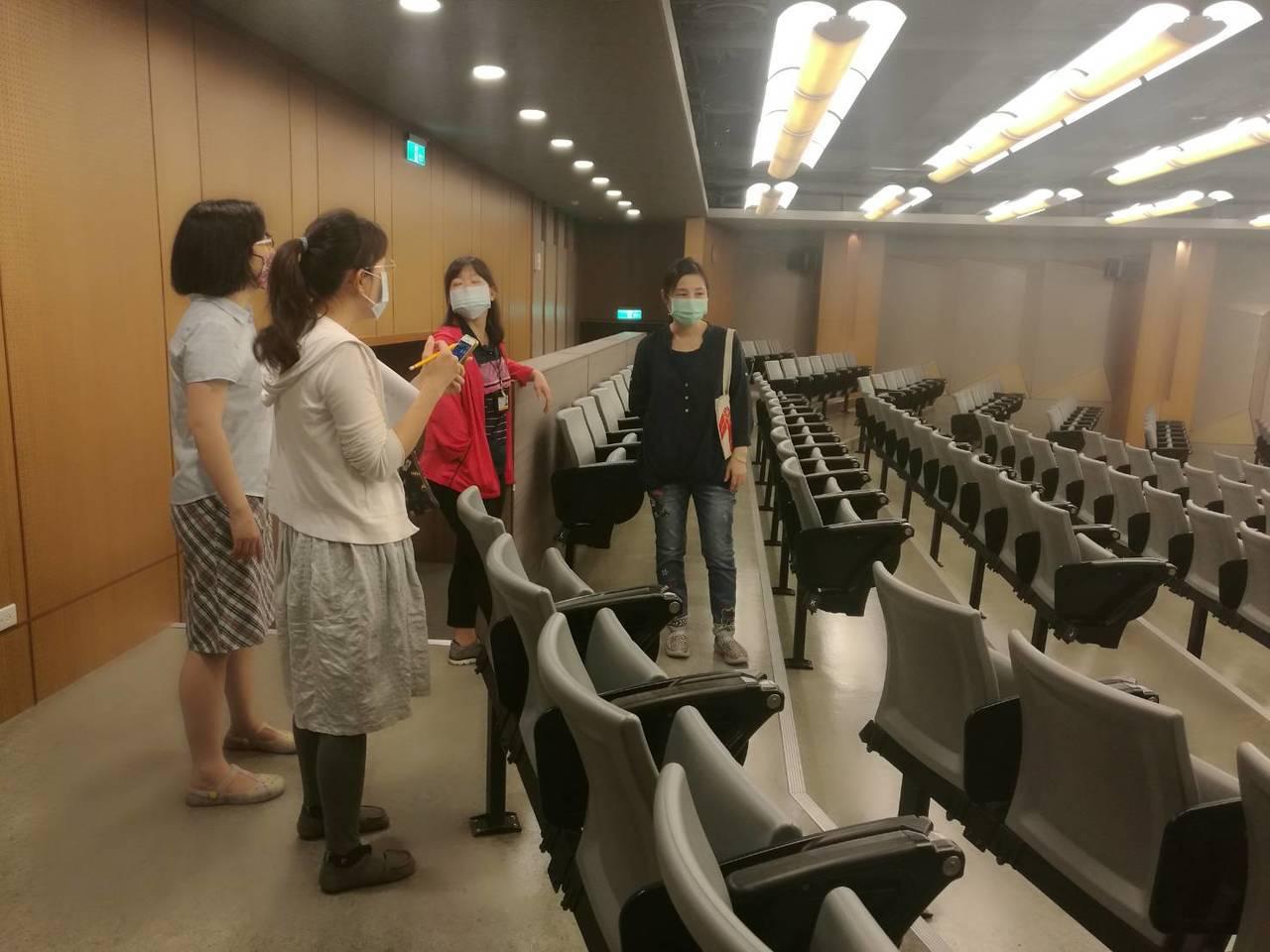 新竹市衛生局9月17日到清大稽查並要求校方消毒。圖/衛生局提供