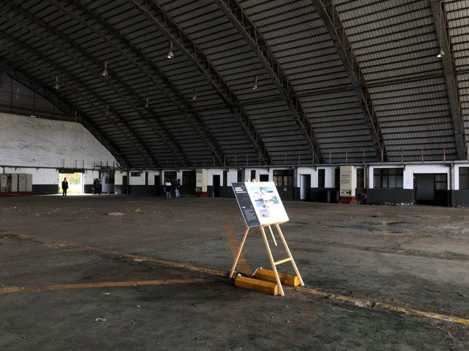 桃園市在9月21日古蹟日當天,將於「前空軍桃園基地設施群」棚廠舉辦「搖滾音樂祭」,讓民眾體驗不一樣的文化資產之美。圖/桃園市文化局提供