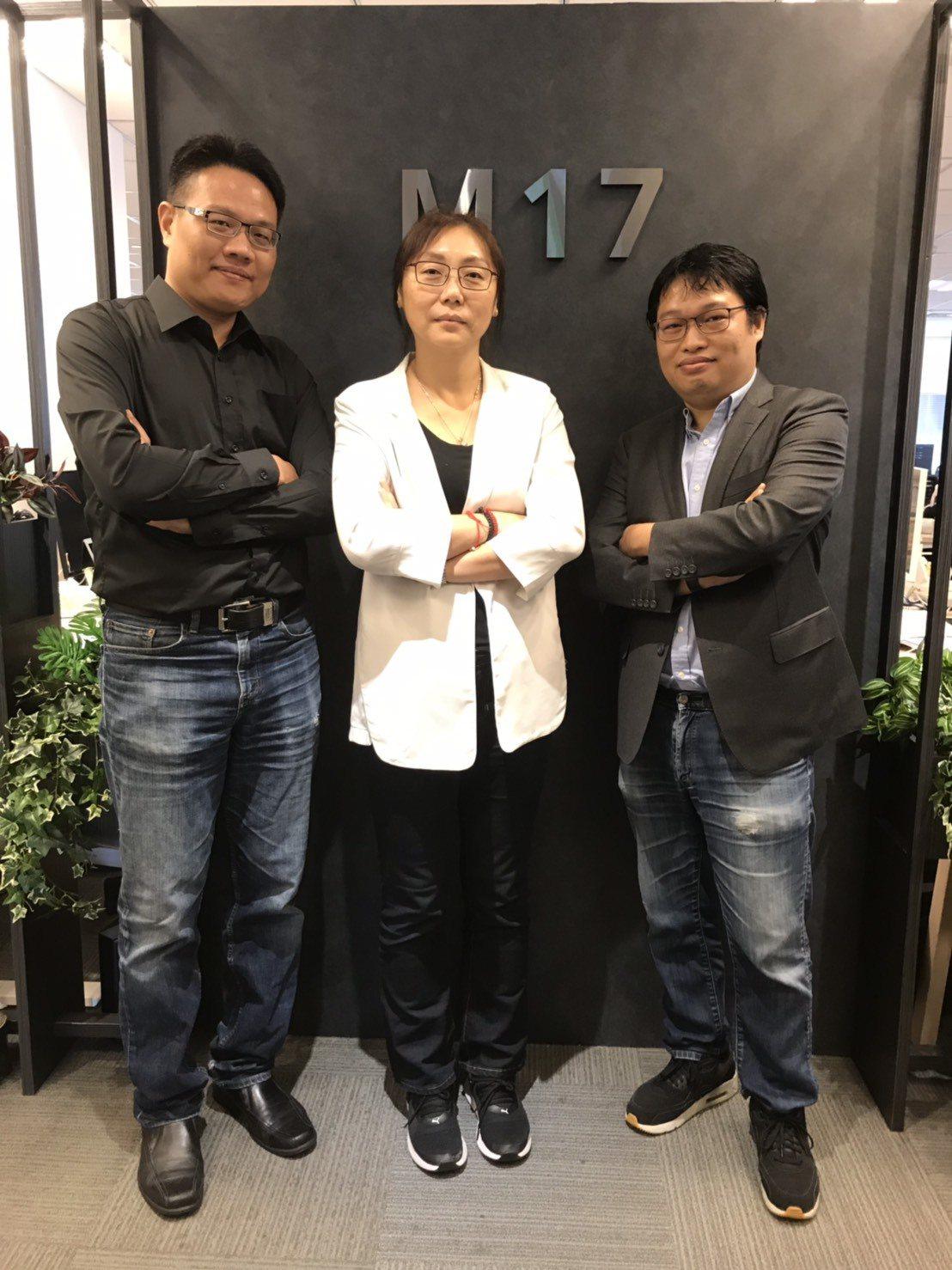 17 Media攜手眾多合作夥伴,將在10月開辦《第三屆華人直播金羽獎》,由左至...