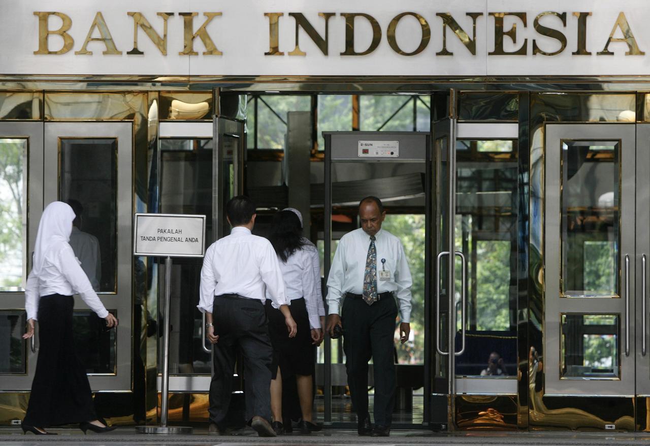 印尼宣布降息1碼,連續第三個月調降利率。(圖/路透)