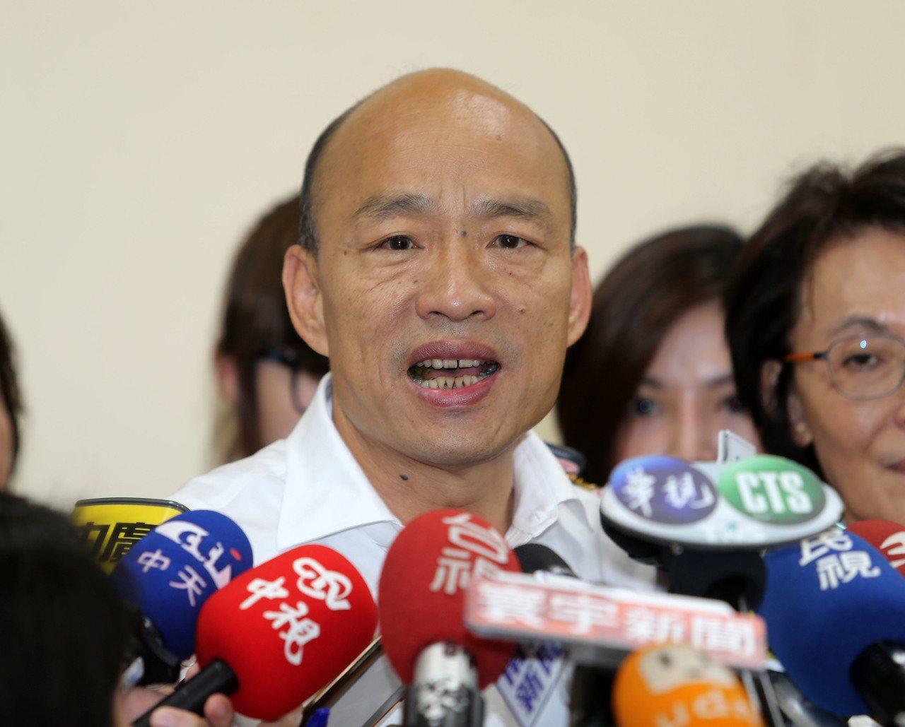 高雄市連續兩天發生治安事件,驚動中央。高雄市長韓國瑜今天表示,已對事發轄區的前鎮...