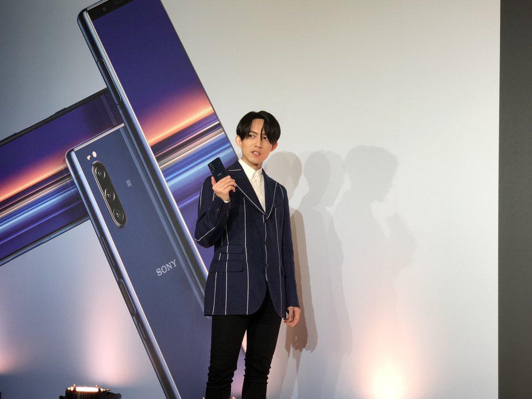 林宥嘉以7位數價碼接下手機代言。記者林士傑/攝影