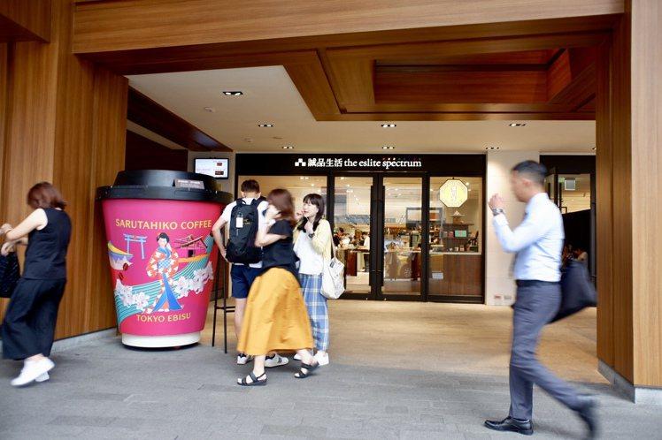 猿田彥珈琲等話題美食進駐誠品南西後表現亮眼超乎預期。記者江佩君/攝影