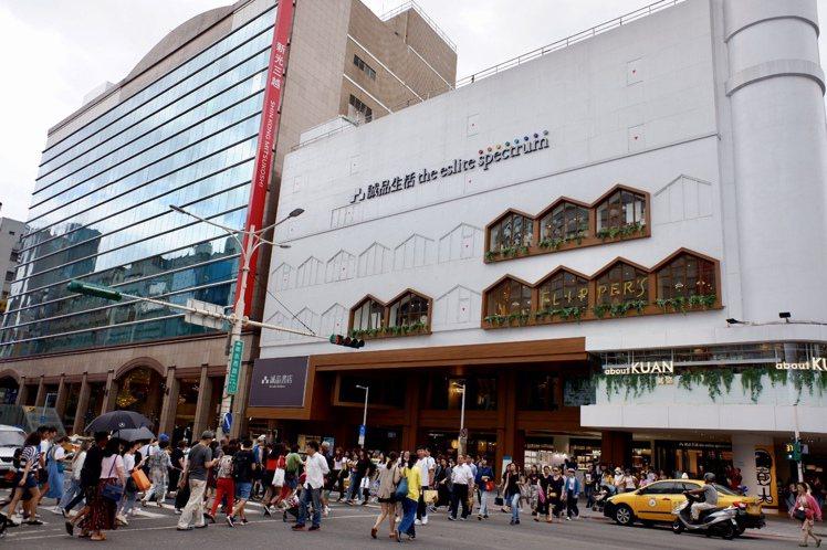誠品南西店加入南西商圈後,帶動商圈人流量成長。記者江佩君/攝影