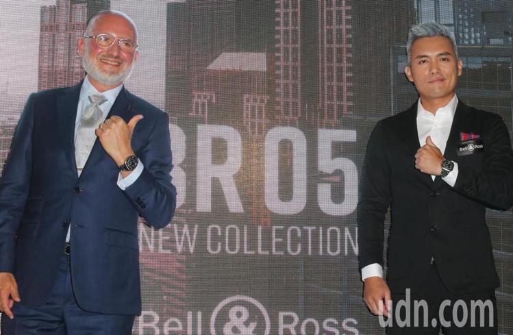 Bell & Ross聯合創辦人兼行政總裁Carlos-Antonio Rosi...