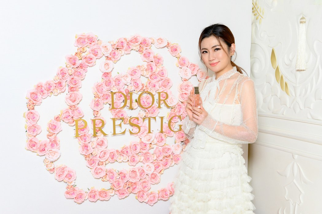 Selina今天美美出席保養品牌活動。圖/Dior提供