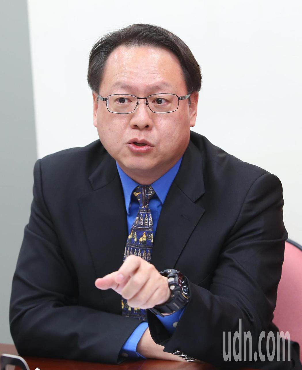 保險安定基金董事長林國彬與談。記者陳柏亨/攝影