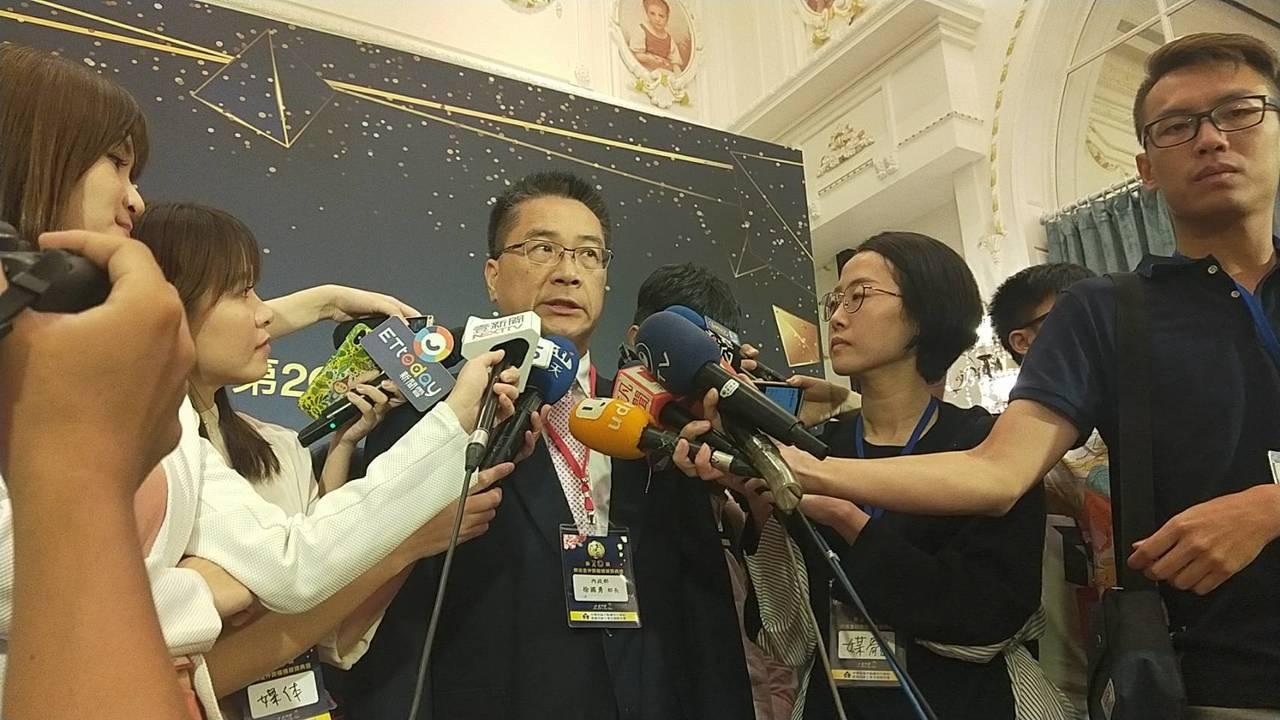 內政部長徐國勇表示,高雄接連事件感覺是在挑戰公權力和社會治安,加上高雄市長韓國瑜...