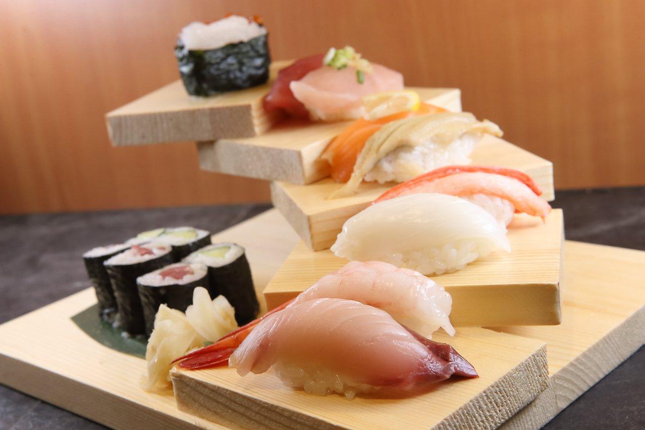 冰上特見握壽司,每份660元。記者陳睿中/攝影