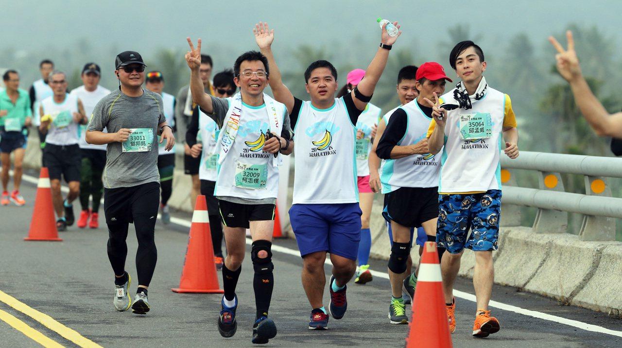 旗山馬拉松主辦單位再推出團報及在地人優惠方案。圖/聯合數位文創提供