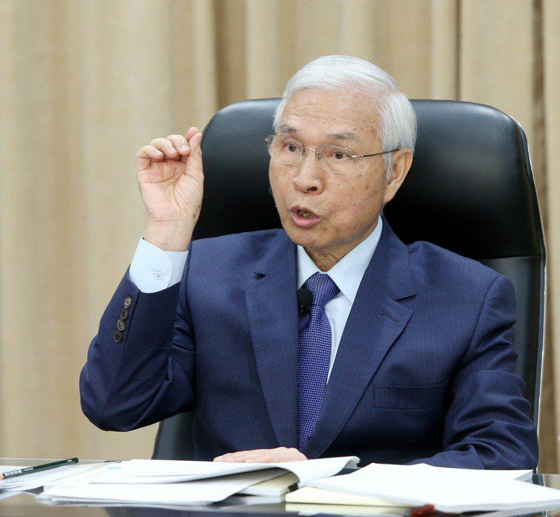 央行總裁楊金龍。記者邱德祥/攝影