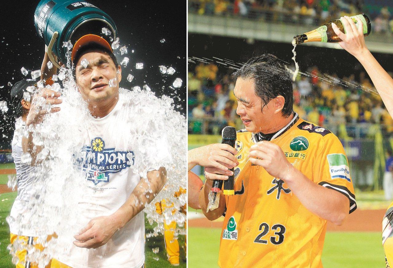 2010年彭政閔率領兄弟贏得總冠軍。 報系資料照