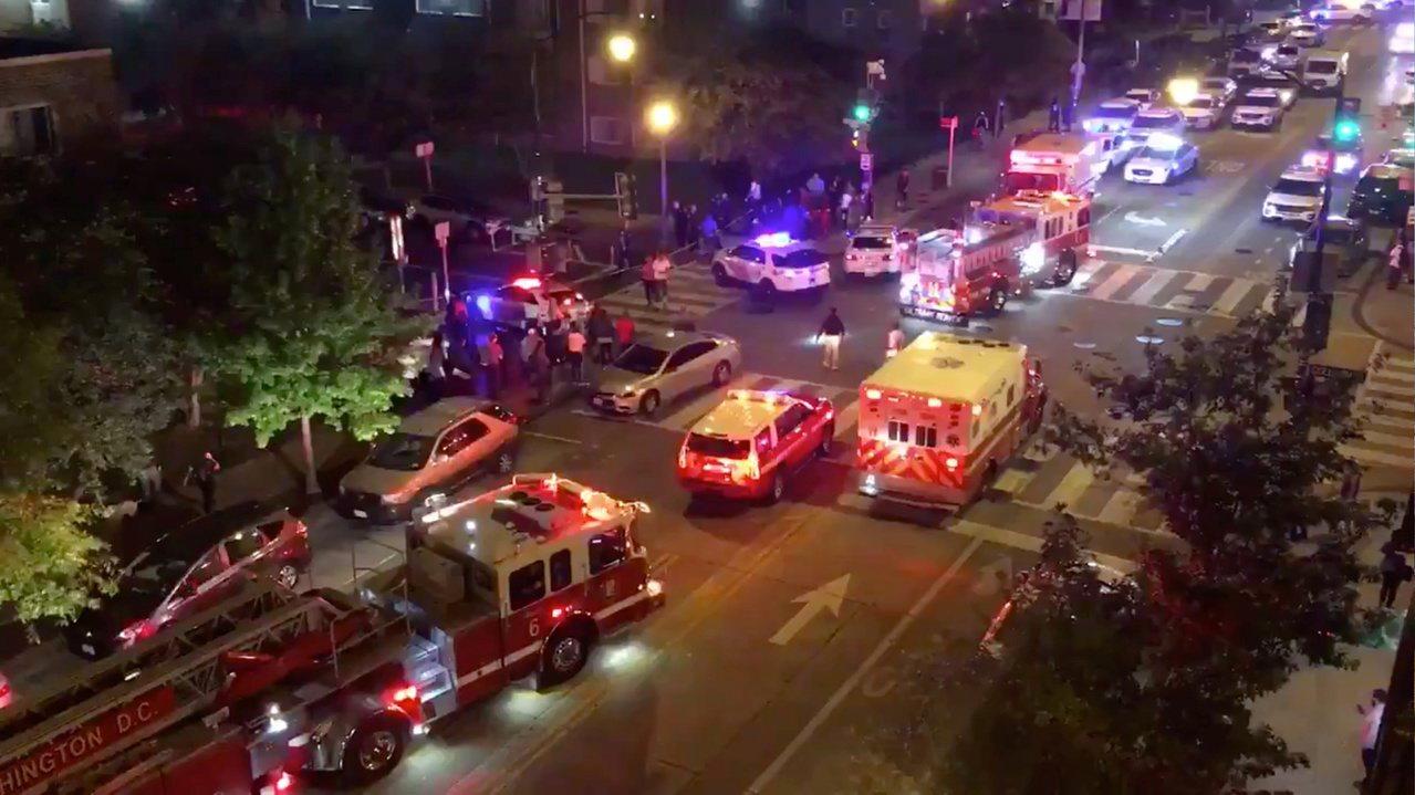 美國華府地區19日晚上驚傳槍擊案。 路透