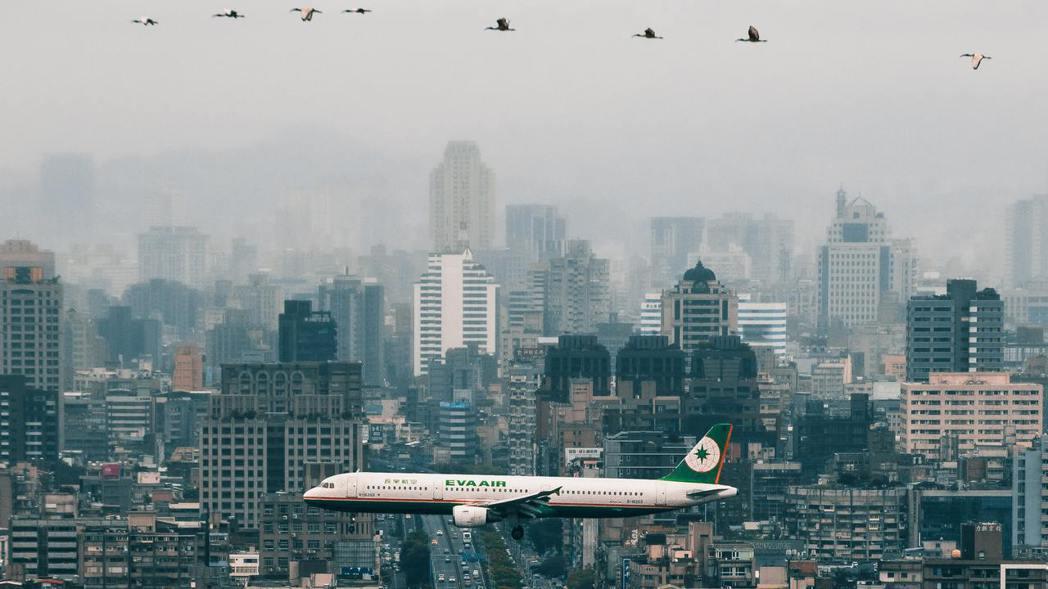 飛機示意圖。 圖/取自Pexels