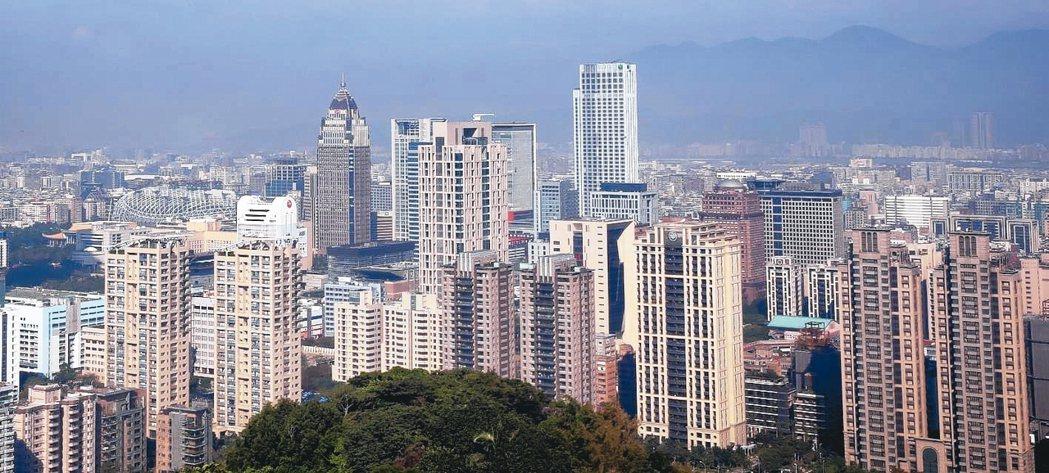 根據主計處統計,國人居住空間持續創新高。 圖/聯合報系資料照片