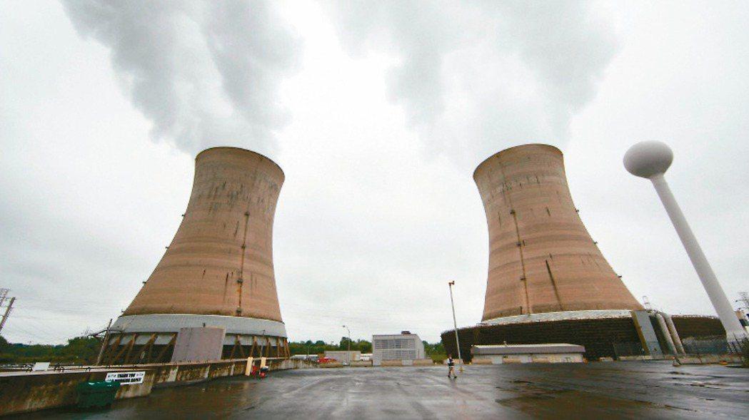 美國賓州三哩島(Three Mile Island)核電廠在當地時間20日中午停...
