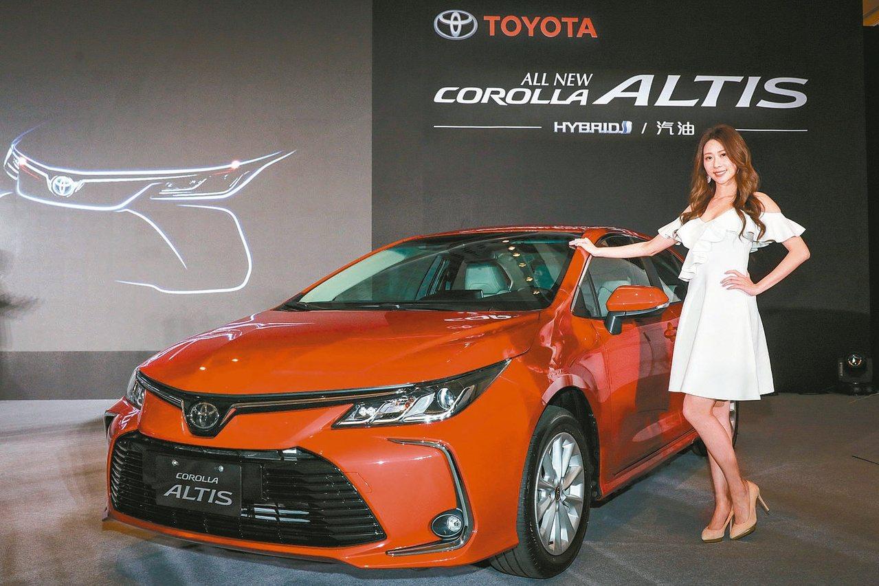 神車Altis推出後和泰車代理TOYOTA銷售一路衝高。圖/和泰車提供