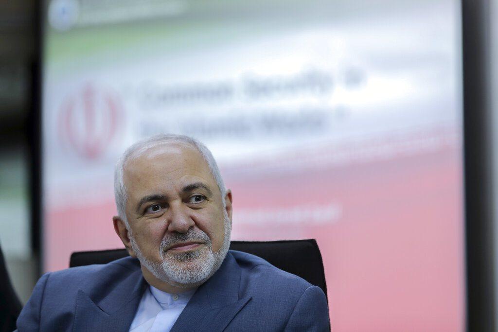 伊朗外交部長查瑞夫揚言「全面開戰」。 圖/美聯社