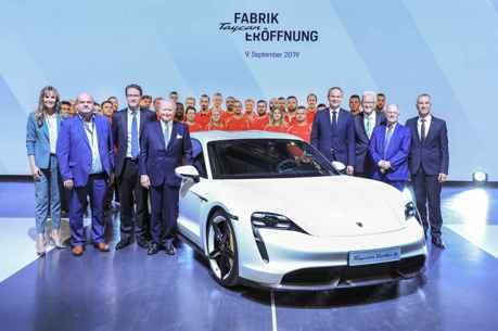 三年內投入60億歐元發展電動車 Porsche Taycan全新廠區正式啟用