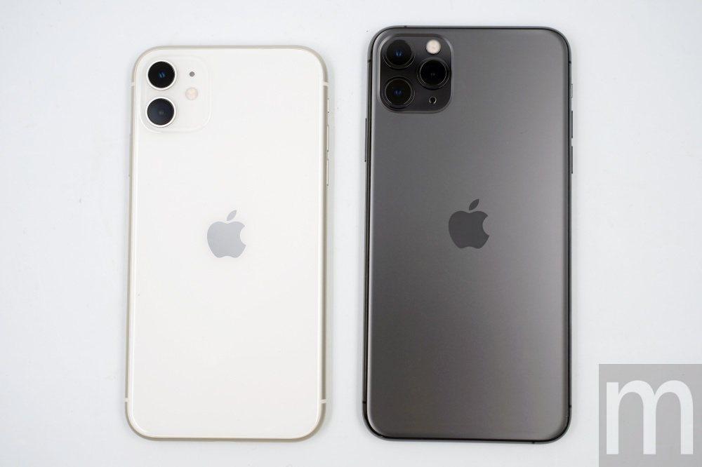 iPhone 11僅搭載主鏡頭與超廣角鏡頭,而iPhone 11 Pro Max...