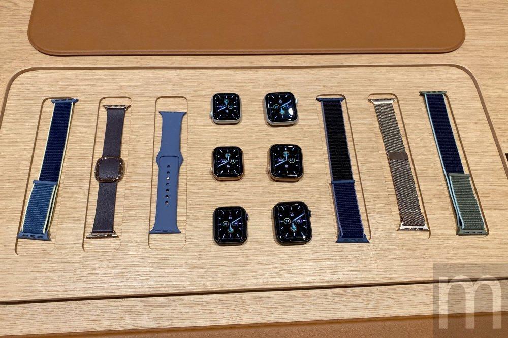 此次同步推出的Apple Watch series 5