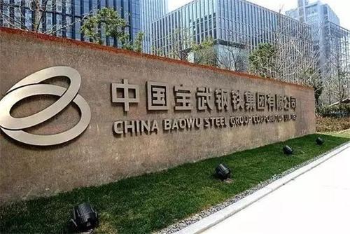 中國寶武是大陸國務院國資委下屬鋼鐵央企。圖:取自搜狐網