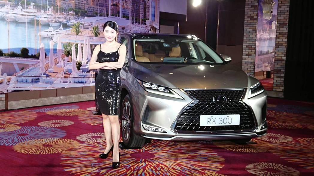 19日推出LEXUSRX車款更是LEXUS銷售主力車款。  圖/業者提供