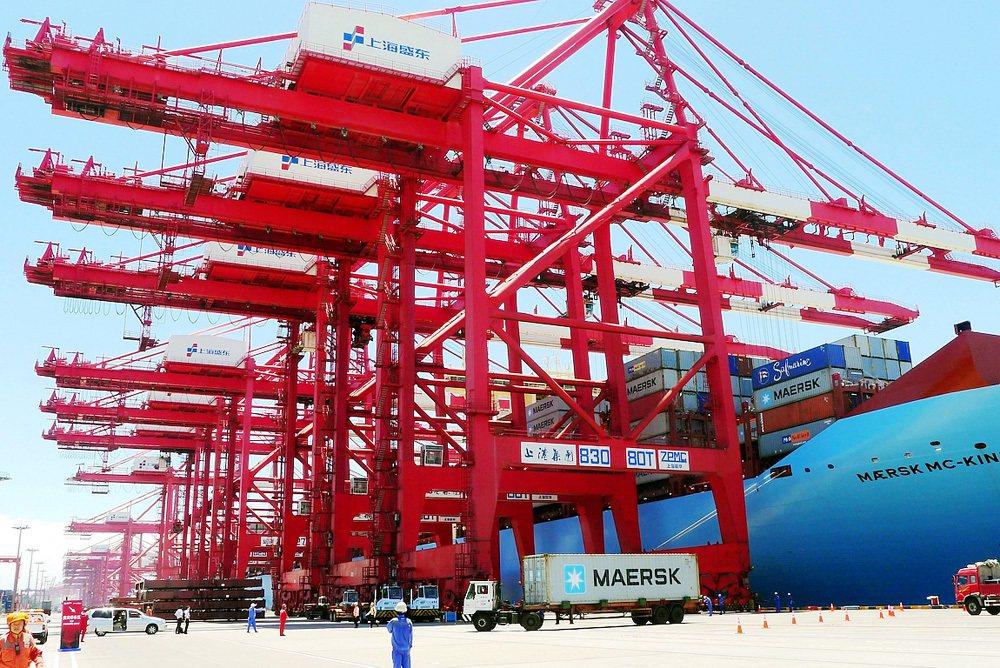 上海洋山港。圖/大公網