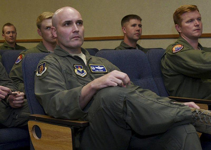 前美國空軍上校霍恩曾在奧克拉荷馬州阿爾特斯空軍基地服務。圖:取自星島日報網站