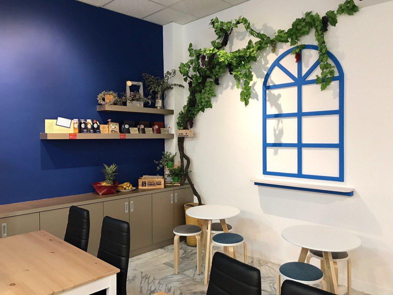 第1波青年頭家「Lily & Sun」概念店進駐新店中央市場,推廣健康美味餐飲。...