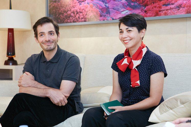 Raphaël Urwiller(左)與Mayumi Otero,從創立工作室之...