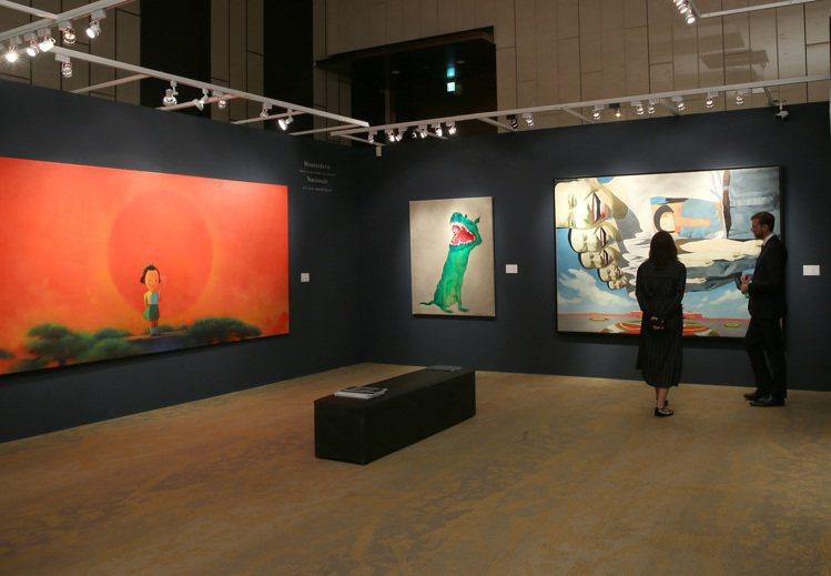 香港蘇富比2019秋季拍賣會台北預展現場。記者林澔一/攝影