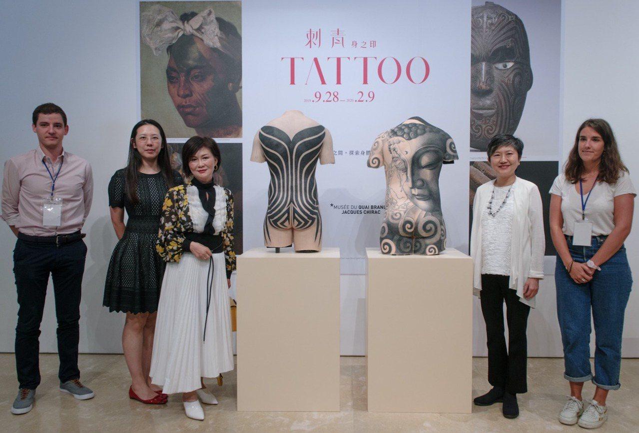 高美館舉行《TATTOO 刺青-身之印》特展開箱記者會,先睹為快美國新部落風格奠...
