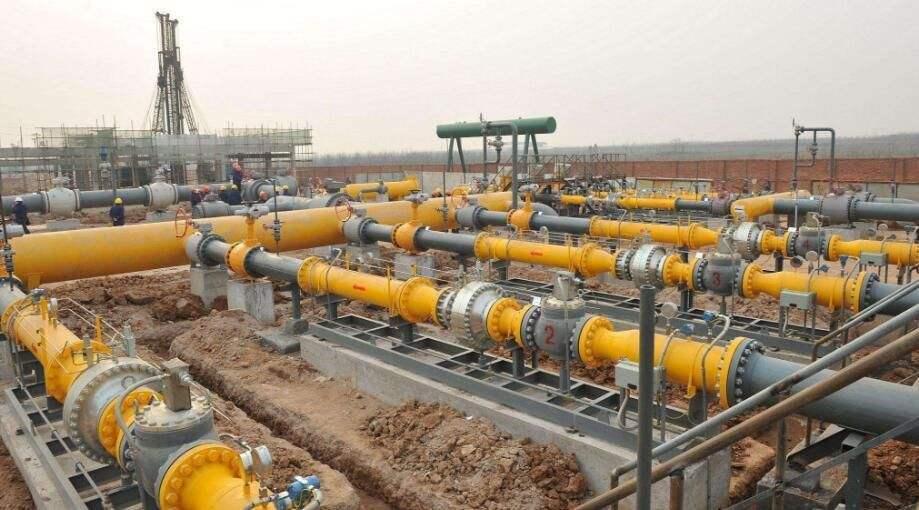 大陸近年增加使用天然氣以調整能源結構。圖為天然氣管線。(網易財經)
