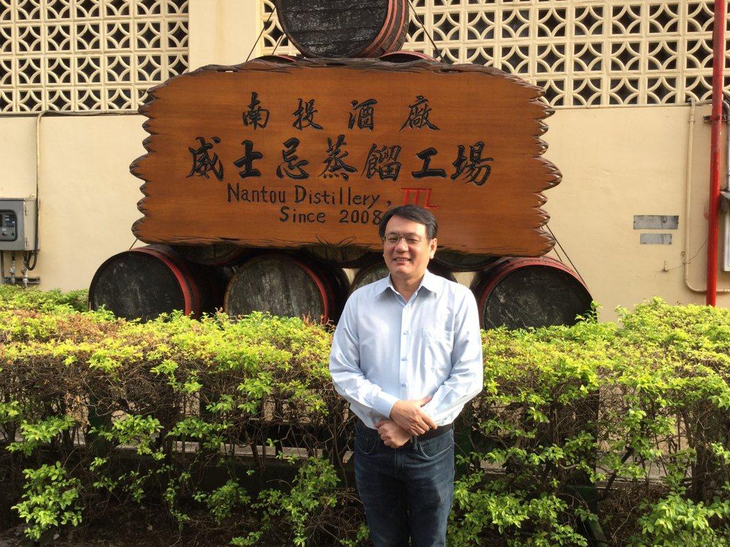 台灣菸酒公司董事長丁彥哲。記者程士華/攝影