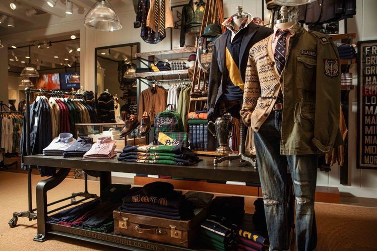Polo Ralph Lauren的101旗艦店推初秋季男裝新品。圖/Polo ...