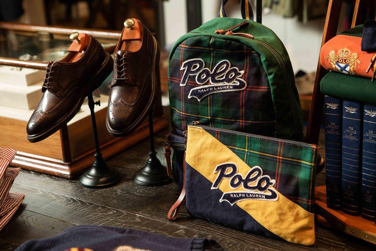 Polo Ralph Lauren的101旗艦店推出男裝最新配件。圖/Polo ...
