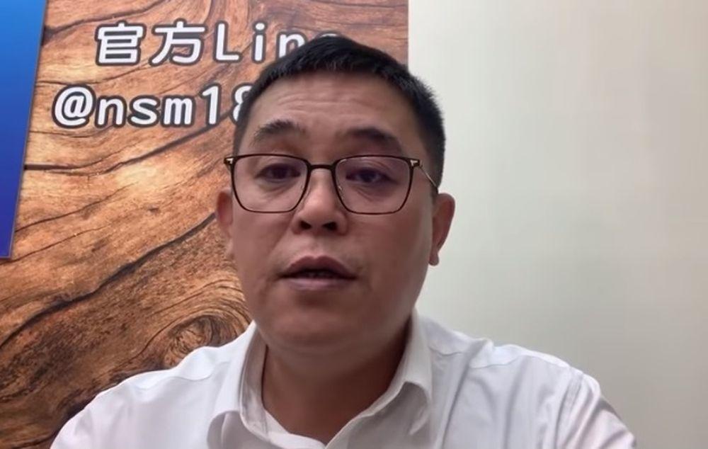 挺國民黨總統參選人韓國瑜的陳清茂被管區員警以「直播主」的理由要求「做資料」,氣嗆...