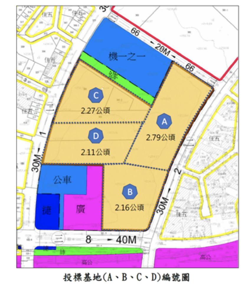新北市經濟發展局說明,該基地座落於林口區建林段385地號等十筆土地,為第六種產業...