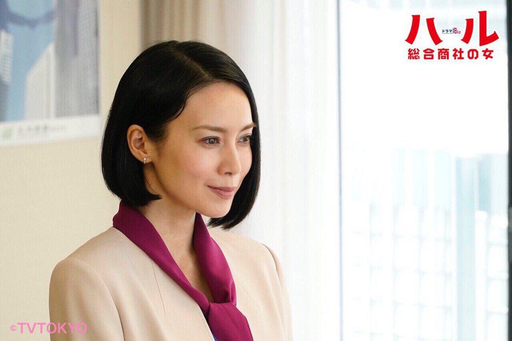 中谷美紀主演的《晴~綜合商社之女》。圖/擷自官方推特