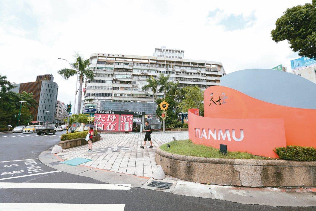 台北市中山北路六、七段周邊,採買便利、交通便捷。 記者邱德祥/攝影