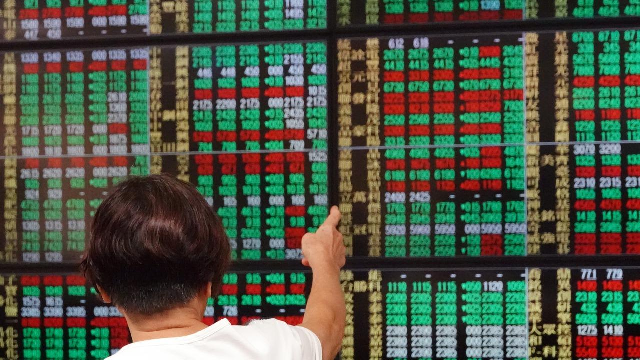 台北股市示意圖 報系資料照