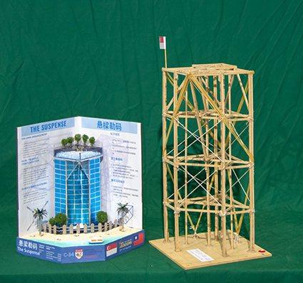 大專組首獎新加坡南洋理工學院作品。 國研院/提供