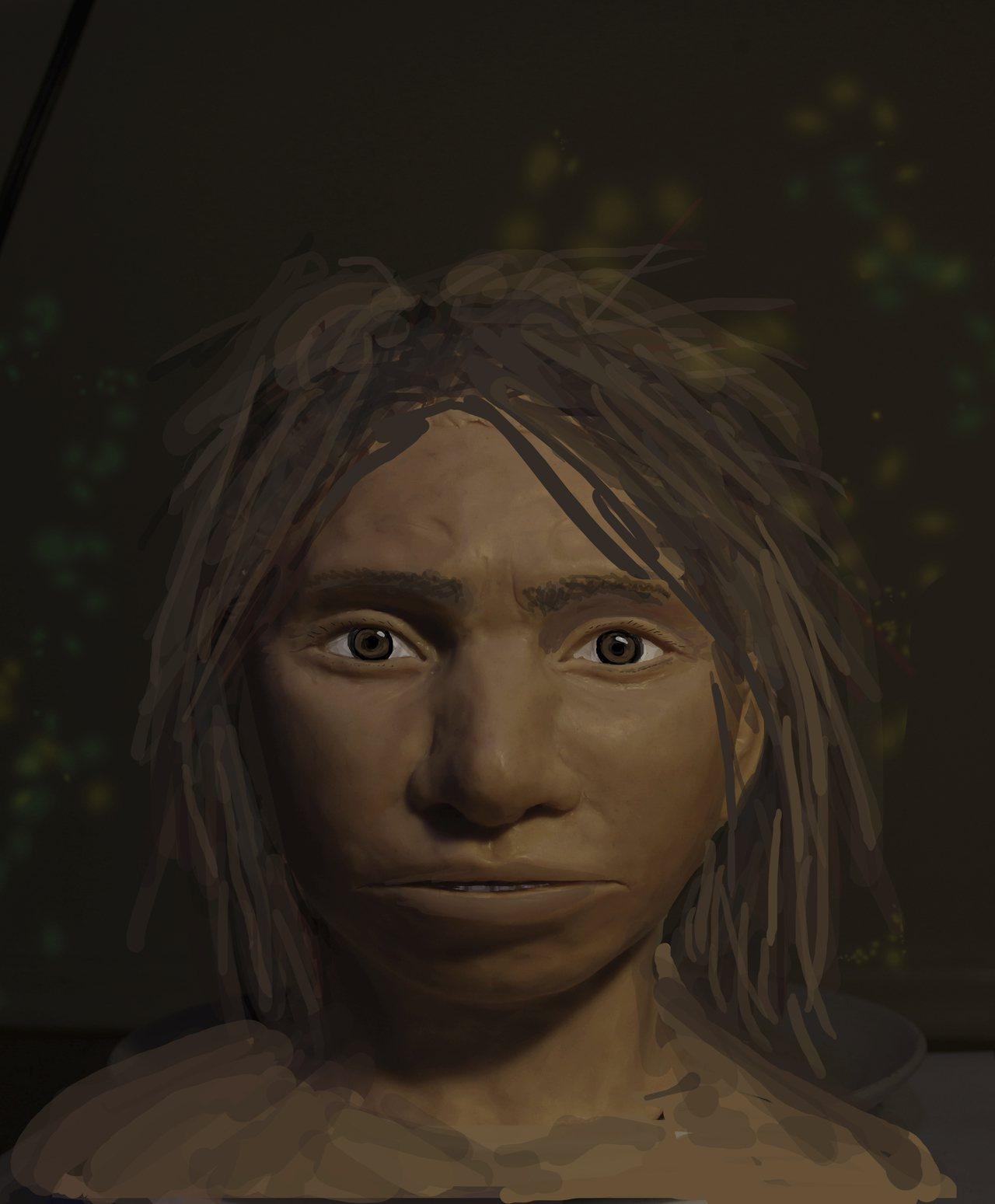 提取指骨化石DNA 專家重塑古人類容貌 美聯社