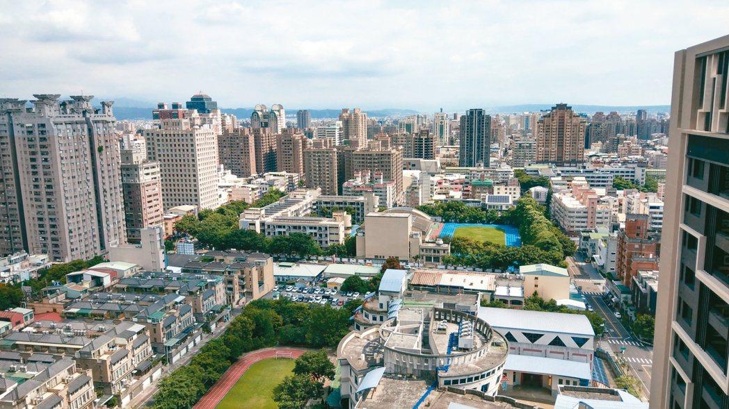 法人表示,2019年7月六都建物買賣移轉件數,以台中市增幅37%居冠。 圖/聯合...